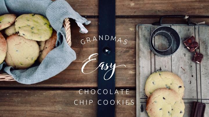 Grandmas Easy Chocolate ChipCookies