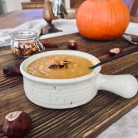 Spiced Pumpkin and Apple Soup