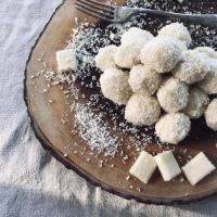 Eggnog Truffles