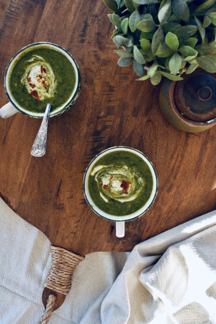 Feel Good Spinach & BroccoliSoup